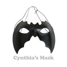 Black Bat Eye Mask Masquerade for Halloween Costume Party Dancing Prom Cosplay