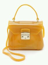 NWT Furla Candy Bon Bon Ruber PVC Mini Crossbody Bag RARE!