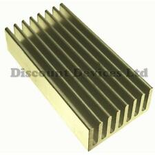 50x25x10mm aluminio del disipador de calor processor/power transistor/ic/fet / pa/supply