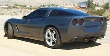05-13 Corvette C6 smoked Complete HEAD & TAIL light tint covers vinyl overlays