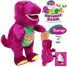 1PCS 26CM SINGING BARNEY THE DINOSAUR SOFT BEAR DOLL PLUSH KID BABY TALKING TOY