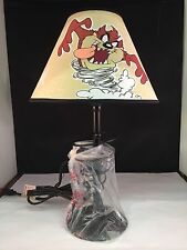 "LOONEY TUNES ""TAZ"" TASMANIAN DEVIL WHIRLWIND TABLE LAMP, 718-I"