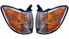 2000-2004 TOYOTA TUNDRA (DOUBLE CAB ONLY) /01-04 SEQUOIA CORNER LAMP LIGHT PAIR