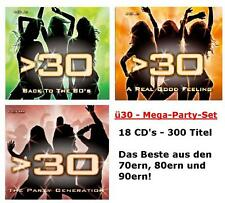 NEU/OVP:ü30 Party Hits (18 CD's) Best of Rock Pop 70s 80s 90s TV-Werbung