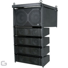 Citronic CLA-300 Active 900W RMS Pro DJ Line Array PA Speaker Subwoofer System