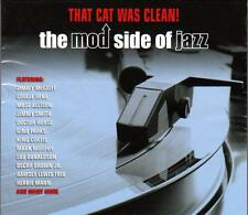 THAT CAT WAS CLEAN! THE MOD SIDE OF JAZZ - VARIOUS ARTISTS (NEW SEALED 2CD)