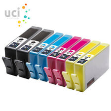 8x 364 XL Compatible CHIPPED Ink for Photosmart 5510 5515 5520 5524 6510 C6380