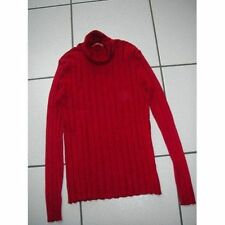 Pull col roulé rouge Alain Manoukian taille 36