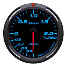 Defi Racer Gauge 60mm Turbo Meter DF11504 Blue