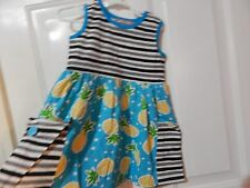 Jelly the Pug big girl dress from the Pineapple Parfait COLLECTION, size 10