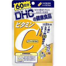New DHC Japan Supplement Vitamin C 1000mg And Vitamin B2 2mg 120 tablets