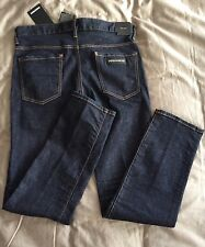 DSQUARED2 'Dean Jean' Designer Metal Brand Jeans IT48 - Made In ITALY RRP £430