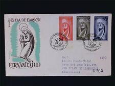 FERNANDO POO FDC 1960 JUNGFRAU MARIA MADONNA c6102