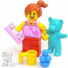 M693 Lego Family House Daughter Girl with iphone 6 & Teddy Bear etc. 10686 NEW