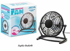 "6"" USB DESKTOP FAN Office Home Computer Laptop PC Desk Portable 15 cm Box Gift"
