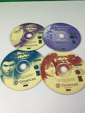 Shenmue For Sega Dreamcast Working Game Discs Only