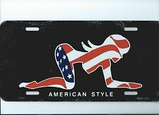 PLAQUE DECORATIVE- PIN UP AMERICAN STYLE  30 X 15 CM-NEUVE-DECORATION USA /BIKER