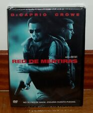RED DE MENTIRAS-BODY OF LIES-DVD-NUEVO-PRECINTADO-NEW SEALED-DICAPRIO-CROWE