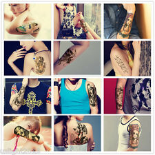Waterproof Fashion Removable Temporary Tattoo Large Arm Body Art Tattoo Sticker