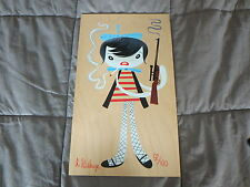 Tim Biskup BEAT SNIPER Print on maple panel MINT CONDITION
