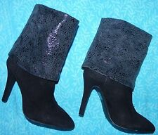BCBGeneration NEW size 6 medium black suede leather boots sexy