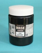 Auxiliary Products:  Vallejo Game Colors - 200ml Bottle Acrylic Black Wash