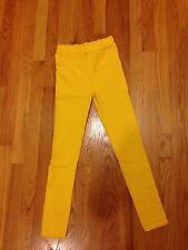 Hot Yellow Sexy Women Fashion Skinny Tights Pants Jeans Womens Super Cute Size S