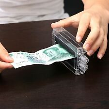 Close-Up Magic prop Trick Dollar Money Printer Bill Printing Machine Money Maker