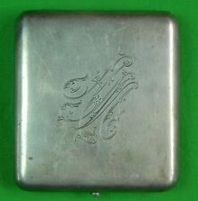 RARE Antique Imperial Russian Russia Sterling Silver 84 GRACHEV Cigarette Case