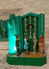 Hallmark Ornament Wizard Of Oz Who Rang That Bell? Lights Movement Sound