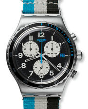 "SWATCH IRONY NEW CHRONO ""SKYBOND"" (YVS409) NEUWARE"