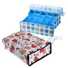 16 / 20 Cell Socks Underwear Ties Drawer Closet Organizer Storage Box Case M