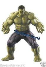 SET OF 2 THE HULK AVENGERS VINTAGE PICTURE POSTER WALL ART PRINT NEW