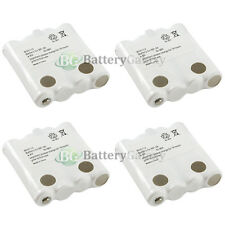 4 Battery for Uniden BP40 BP38 380 380-2 680 885 GMRS