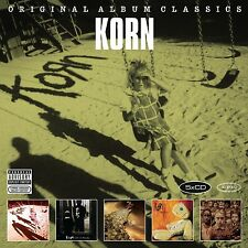 KORN - ORIGINAL ALBUM CLASSICS 5 CD NEU