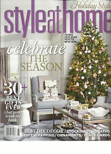 STYLE AT HOME, CELEBRATE THE SEASON  HOLIDAY STYLE, NOVEMBER, 2013 ( THE BEST