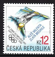 CZECH REPUBLIC 2002**MNH SC#3168 Olympic Salt Lake City - Gold Medal - A.Valenta