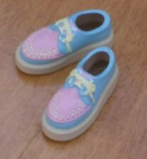 Sekiguchi Light Blue and Pink Rubber-Soled Shoes for momoko in US
