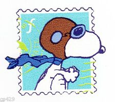 "2"" SNOOPY RED BARON STAMP CHARACTER PEEL STICK WALL BORDER CUT OUT STICKER"