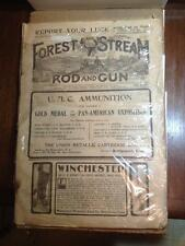 Complete issue Saturday November16.1901  Forest and Stream Rod and Gun