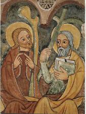 Alte Kunstpostkarte - Jakobus d. Jüngere und Philippus - Kirche Urschalling