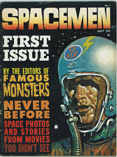SPACEMEN #1 3.0 07/1961 OFF-WHITE PAGES