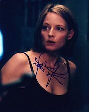 Jodie Foster ++ Autogramm ++ Inside Man ++ Das Schweigen der Lämmer ++ Elysium