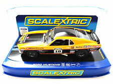 "Scalextric ""Wilson Security"" Ford Mustang Boss 302 DPR 1/32 Slot Car C3671"