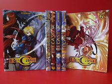 Lot Mangas Recast Tome 1 à 6 Série Complète