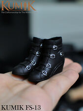 "KUMIK 1/6 Scale CG CY Girl Boots KM FS-13 Shoes Fit 12"" Female Figure Body Toys"