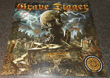 """GRAVE DIGGER-EXHUMATION-2015 LP+7"""" GOLD VINYL-LIMITED TO 100-NEW+SEALED"""