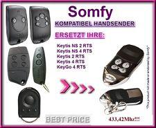 Somfy KEYGO 4 RTS Kompatibel Handsender / Ersatz sender 433,42Mhz