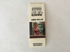 Matchbook Cover - DICK'S Last Resort, NUDE SEXY GIRLIE, Boston Massachusetts