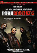 Four Brothers (DVD, 2005, Full Screen, Special Collector's Edition, Region 1)